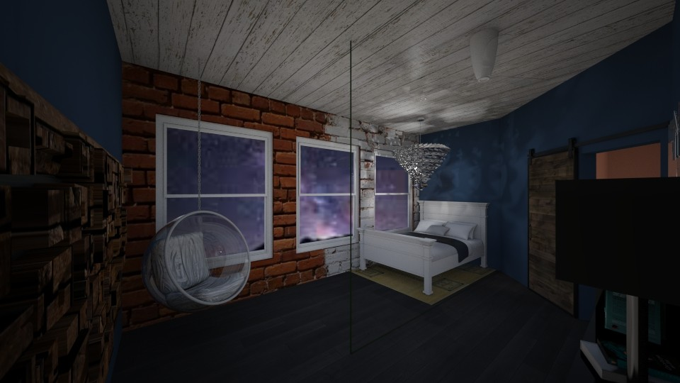 blackout glass - Bedroom - by Snowy Tiger