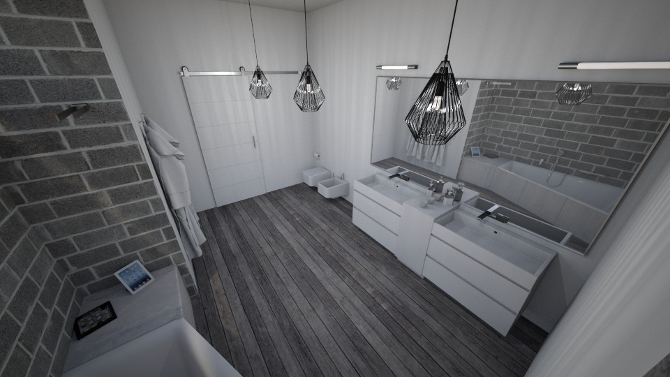 Modern bath - Modern - Bathroom - by Nikodem Chudy