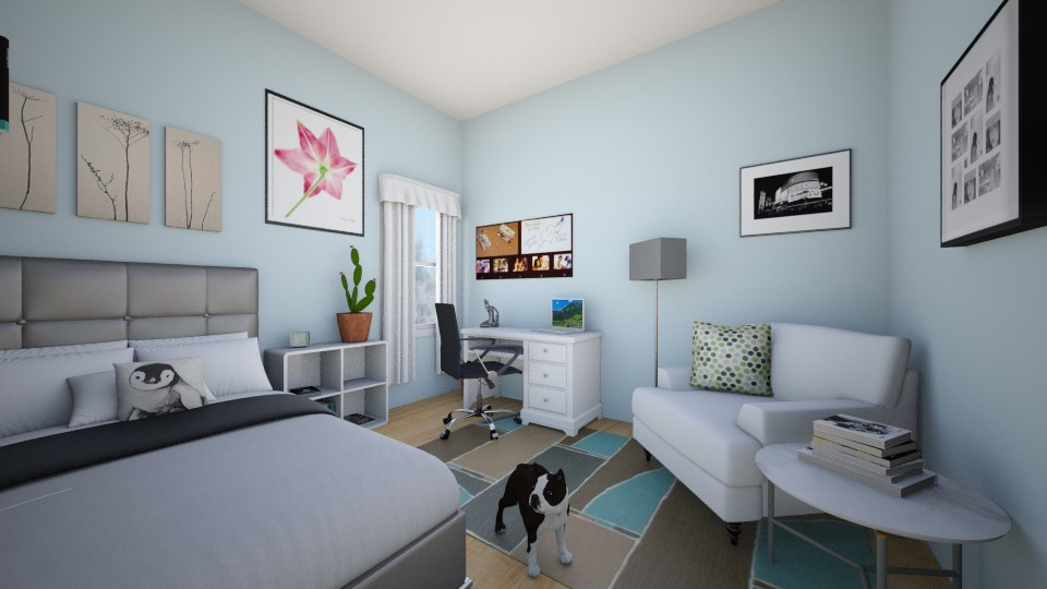 My Room Redesigned - Modern - Bedroom - by swim_CRAZY