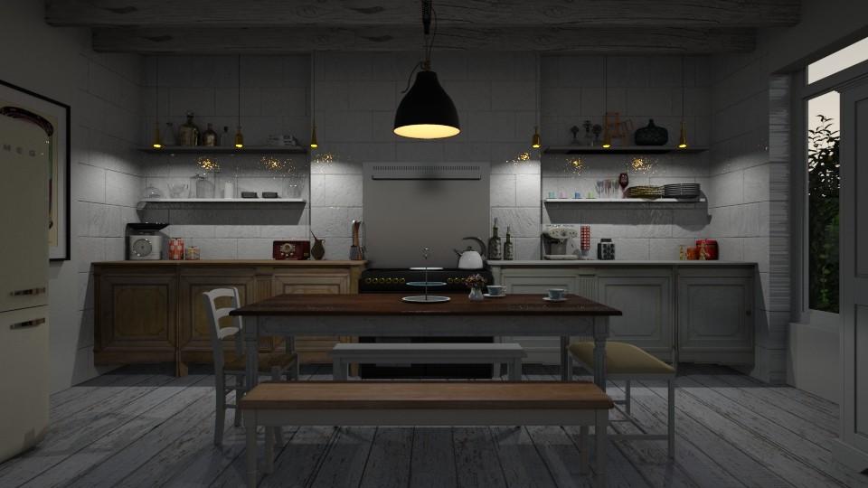 Kitchen - Rustic - Kitchen - by Annathea