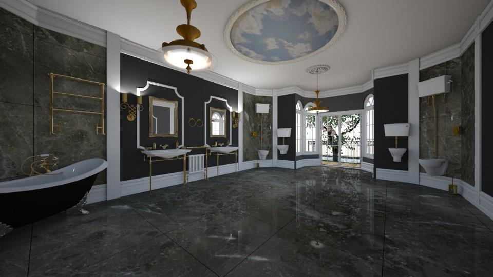Ada Bart - Glamour - Bathroom - by AdaBart