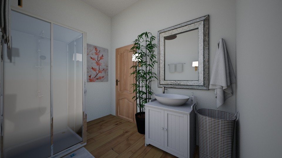 Top floor bathroom - by cupcakes45