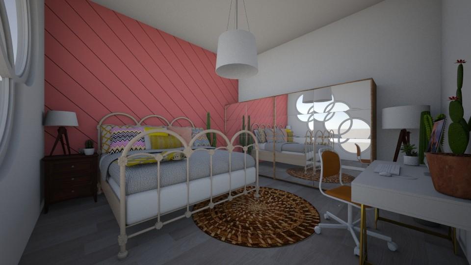 Retro Girly - Retro - Bedroom - by Angel122