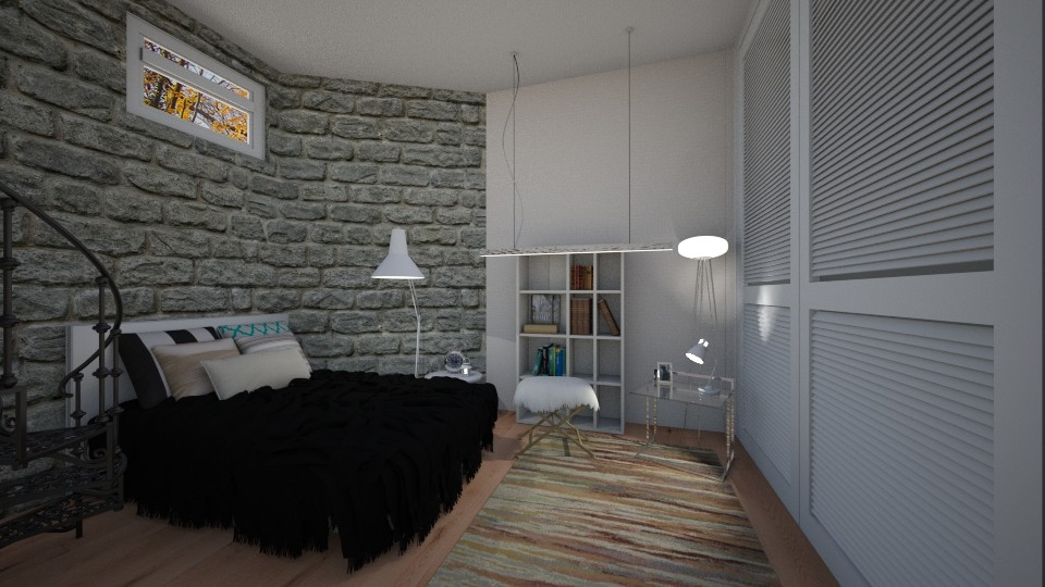 Basement Bedroom 2 - Bedroom - by CatLover0110