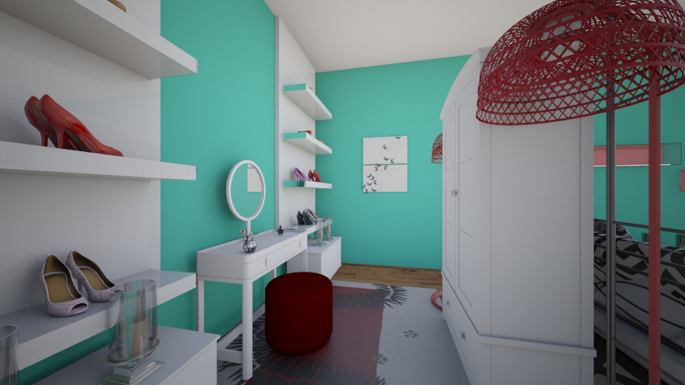in progress_dressing area - Modern - Bedroom - by SeraLika