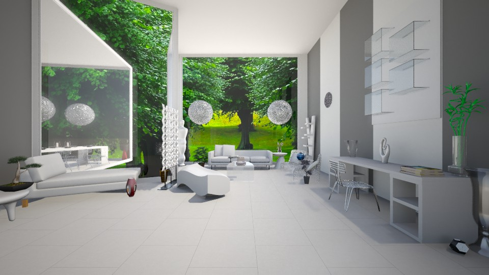 Simply Modern - Living room - by OnceInALifetime