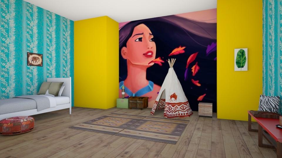 Disney room part 1 - Bedroom - by m_altieri14