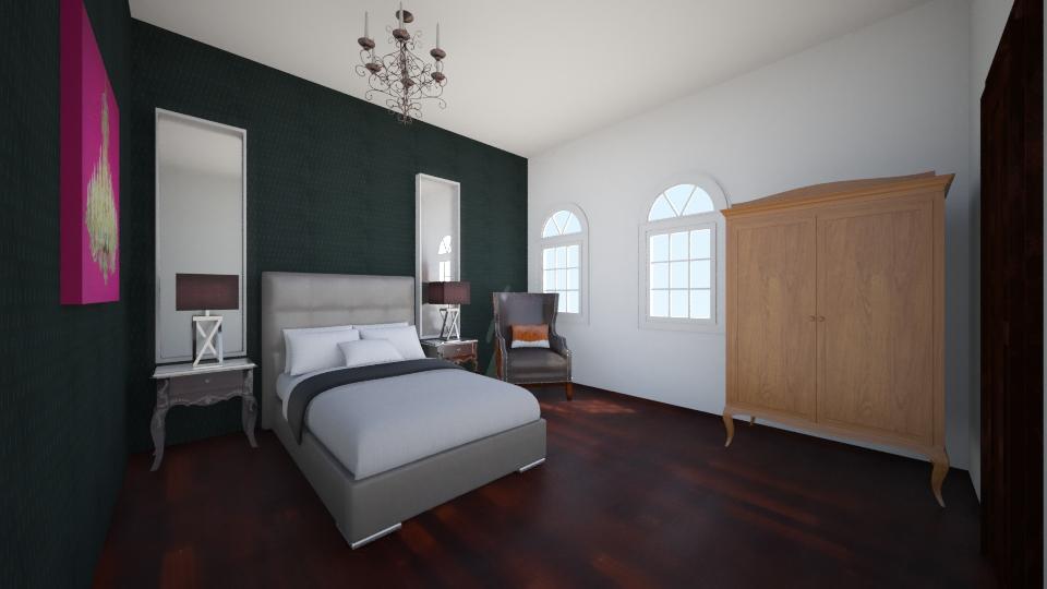dormitorio elegante - Bedroom - by MarquiGames