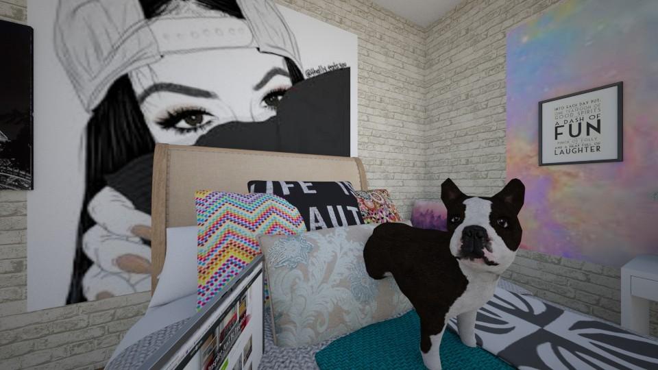 tumblr room - by jojo swia