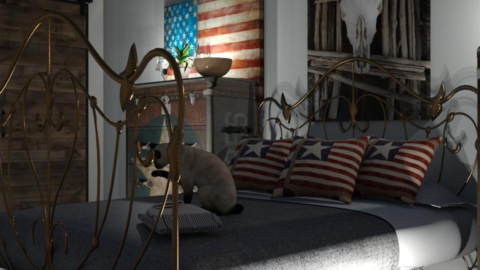 Western Bedroom - by ZuzanaDesign