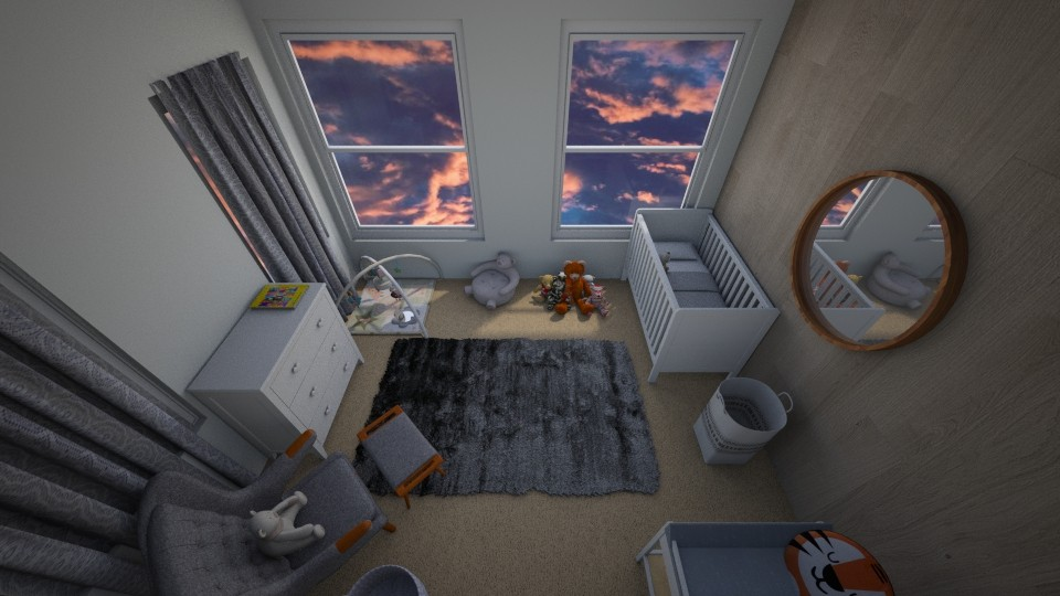 Baby room 1 - Bedroom - by Lili Cooley