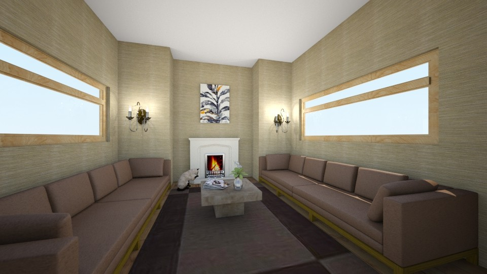Simple - Living room - by queen3067az