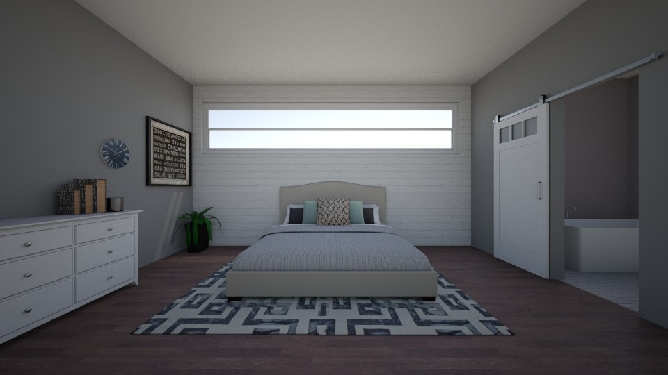 shiplap try - Bedroom - by BrynnWisse