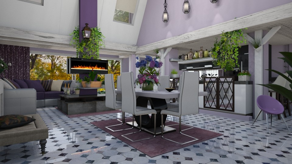Kitchen and living attic - by marocco