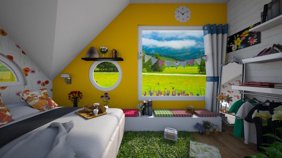 Tiny Bedroom - Bedroom - by Vanessa_D