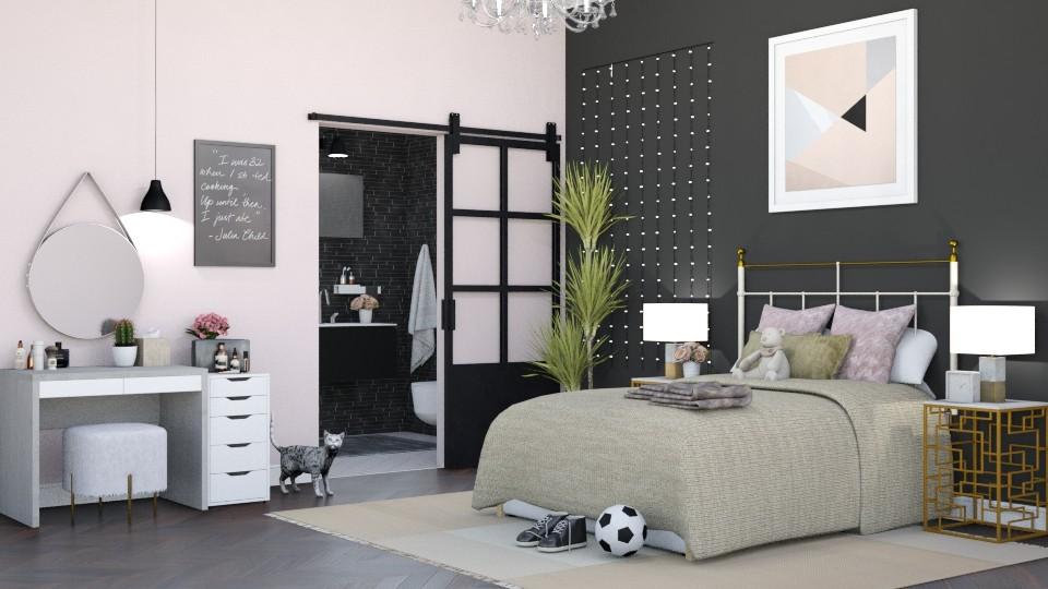Teen Girl - Bedroom - by lovedsign