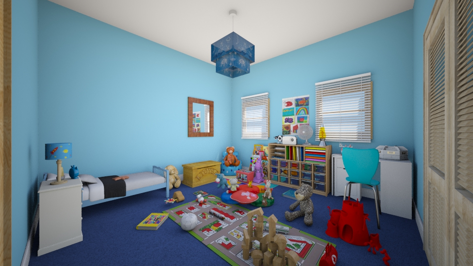 childs room - Bedroom - by Jessica Lyn