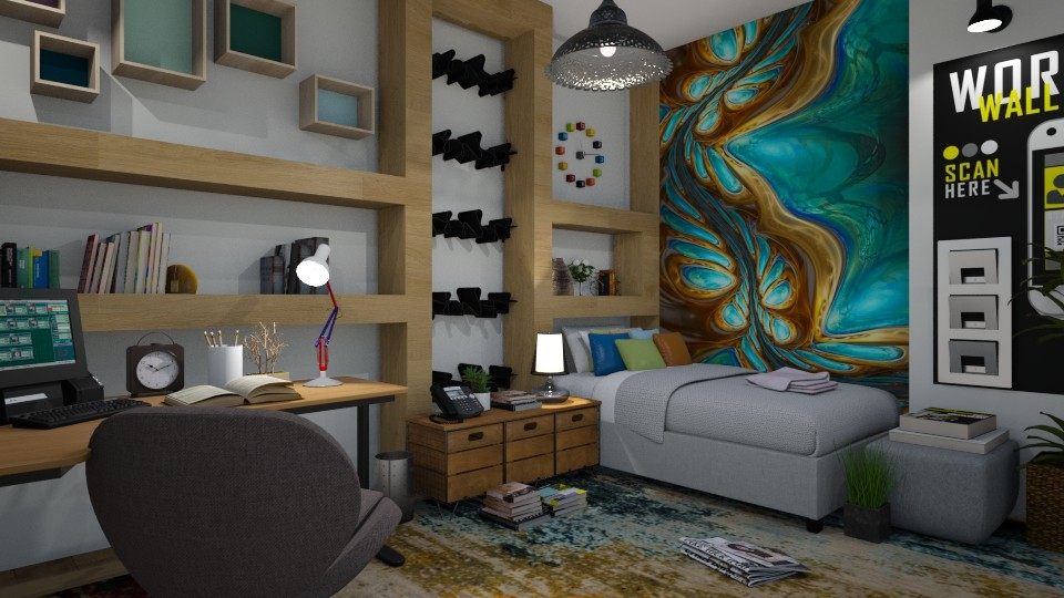 LOYKAS2 - Modern - Kids room - by matina1976