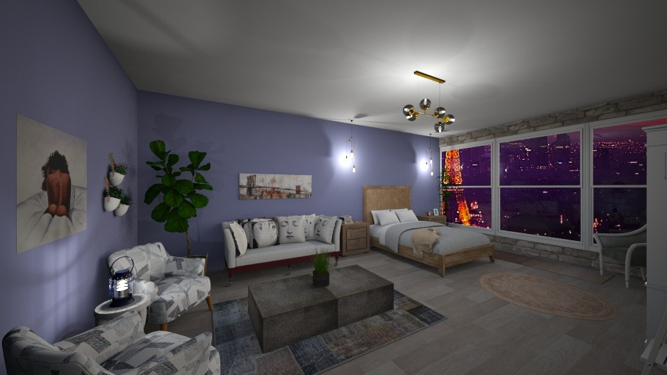 living room0slash0bedroom - Country - by Viki4445