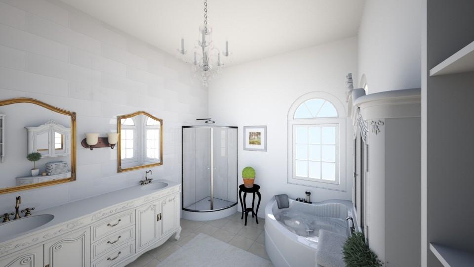 bathroom french - Classic - Bathroom - by talialodaya