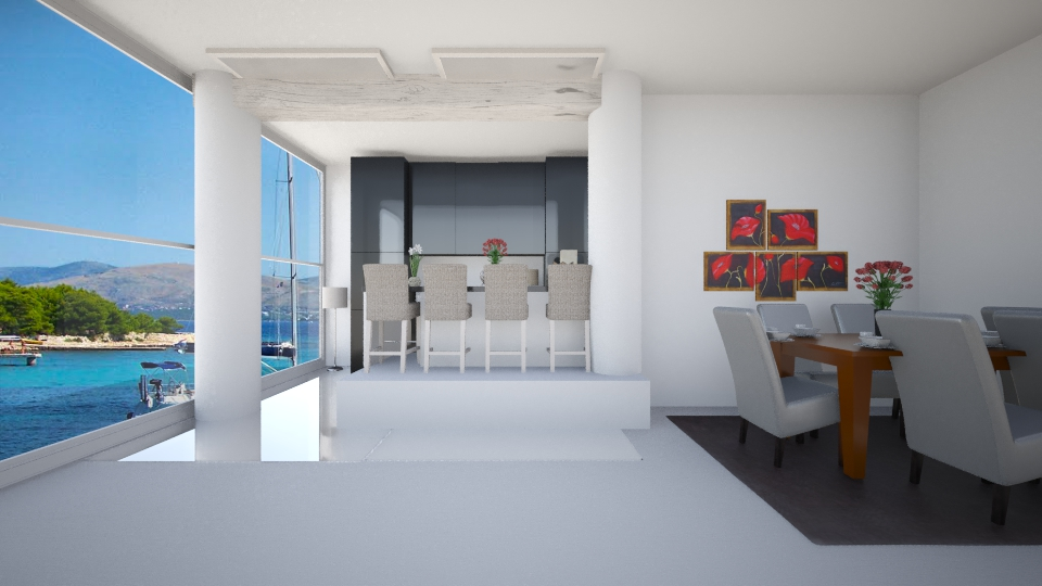 2in1 - Dining room - by Nina26