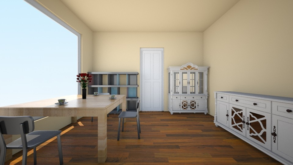 A normal dining room - Modern - Dining room - by albanxhepi