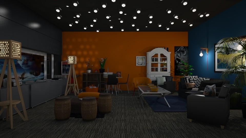 Bioscoop thuis - Living room - by kolibrie_designer