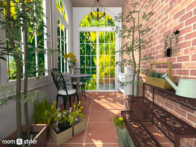 The Sun Room - Garden - by nikkisp