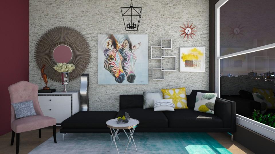 Z2 - Modern - Living room - by Karim Mahfouz