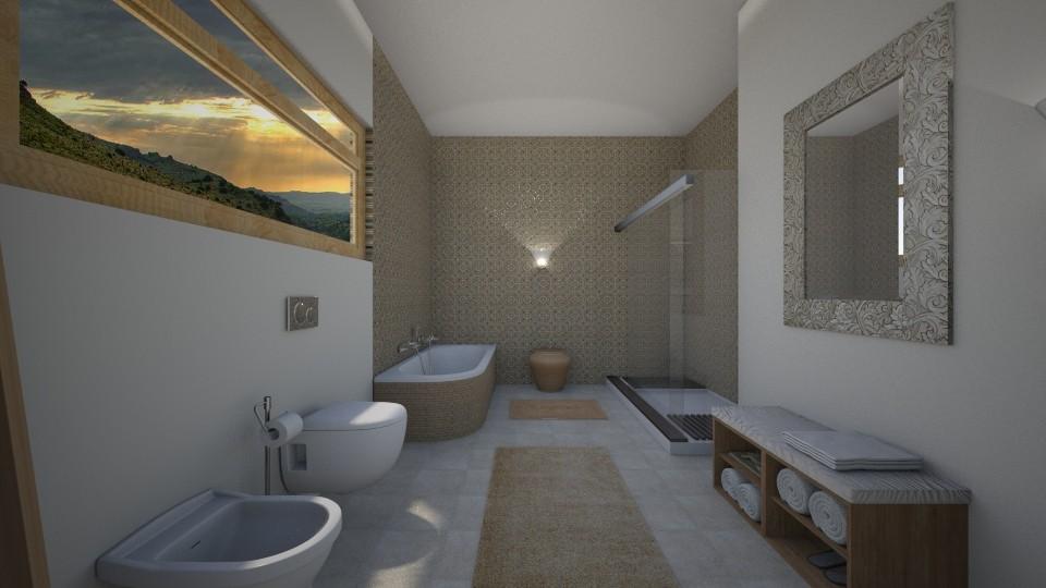 Spa - Minimal - Bathroom - by tena9