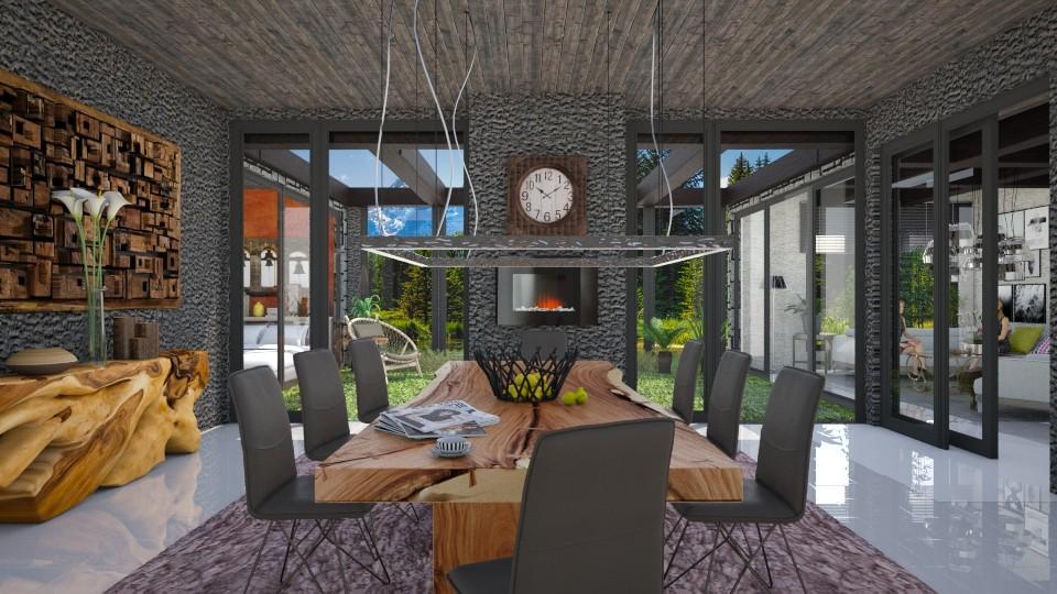 modern dining 2000  - Modern - Dining room - by Ida Dzanovic