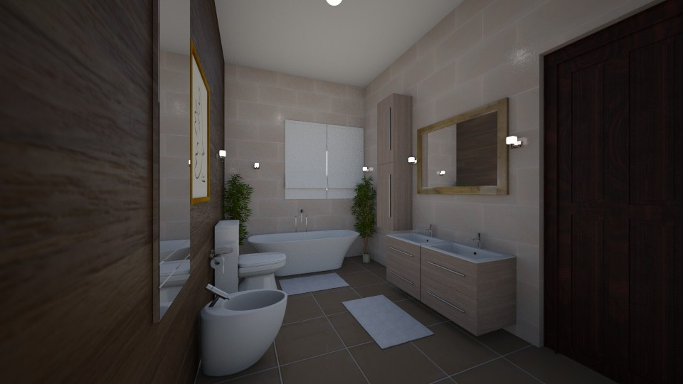Scandinavian Simplicity - Modern - Bathroom - by tena9
