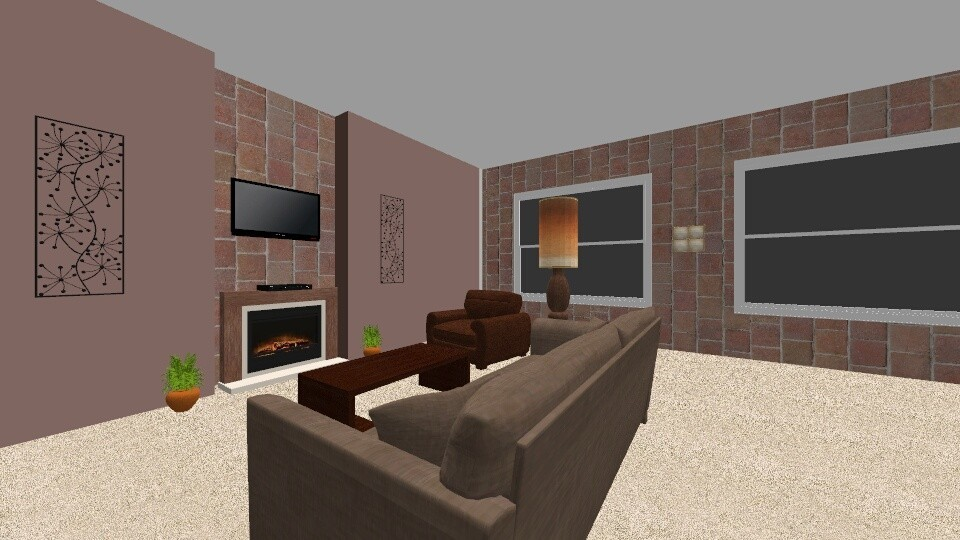 Cocoa Style - Classic - Living room - by RoomstylerJD