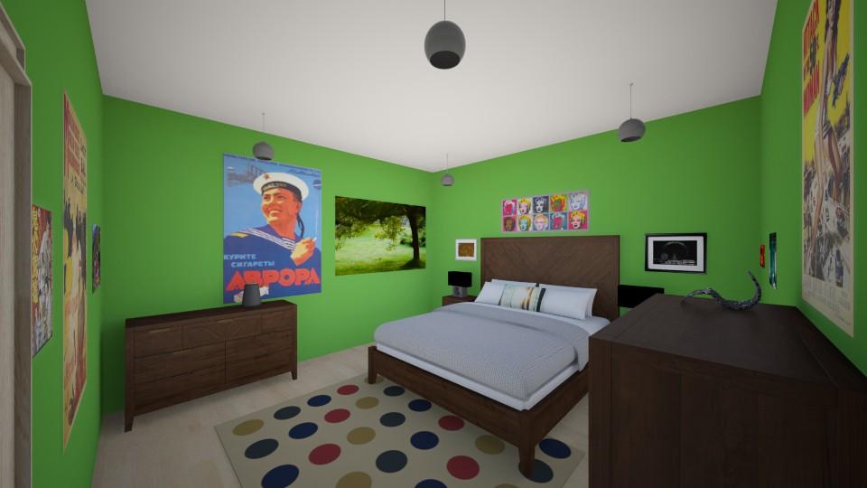 greene light - Feminine - Bedroom - by ariaw