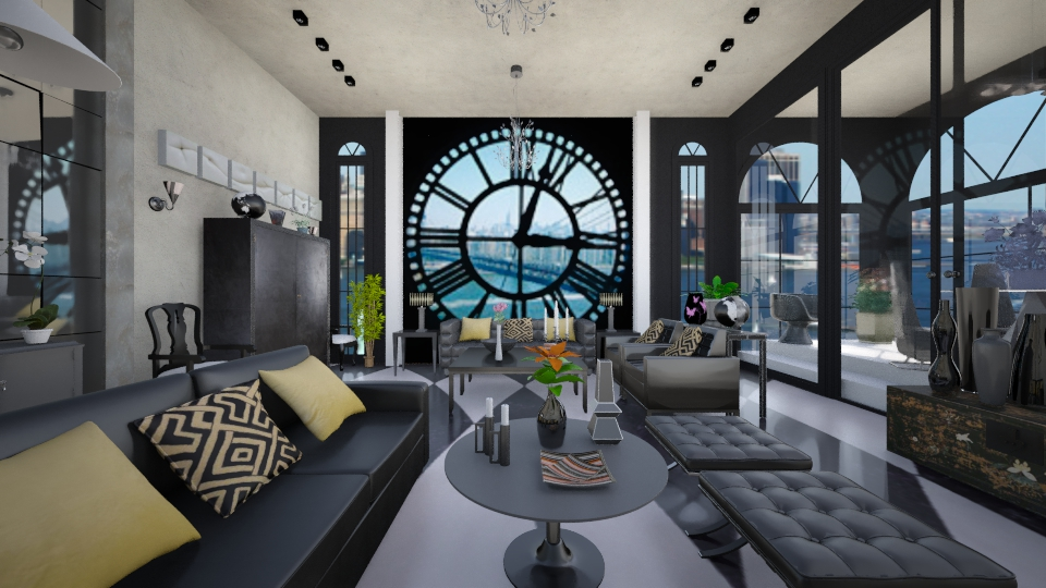 Clock tower penthouse - by Themis Aline Calcavecchia