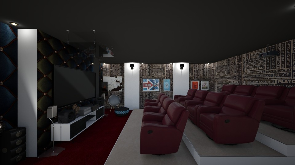 Home Theatre - by Joan De Leon