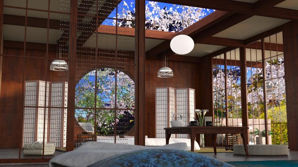 view from floor bed - Global - Bedroom - by anchajaya