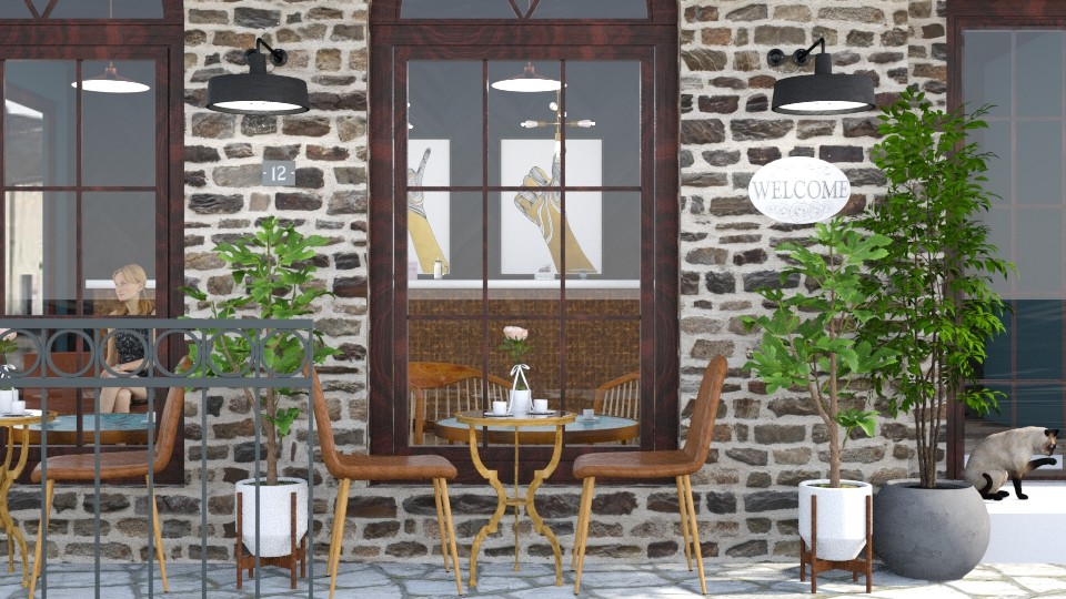 i tried to make a coffee shop - by Brianna_322
