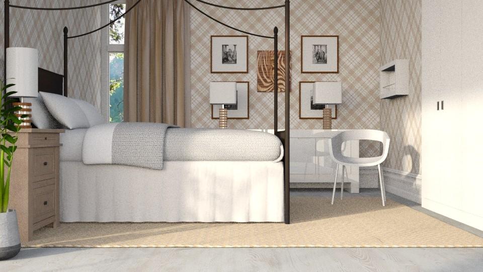 Eclectic Bedroom - by KKTO