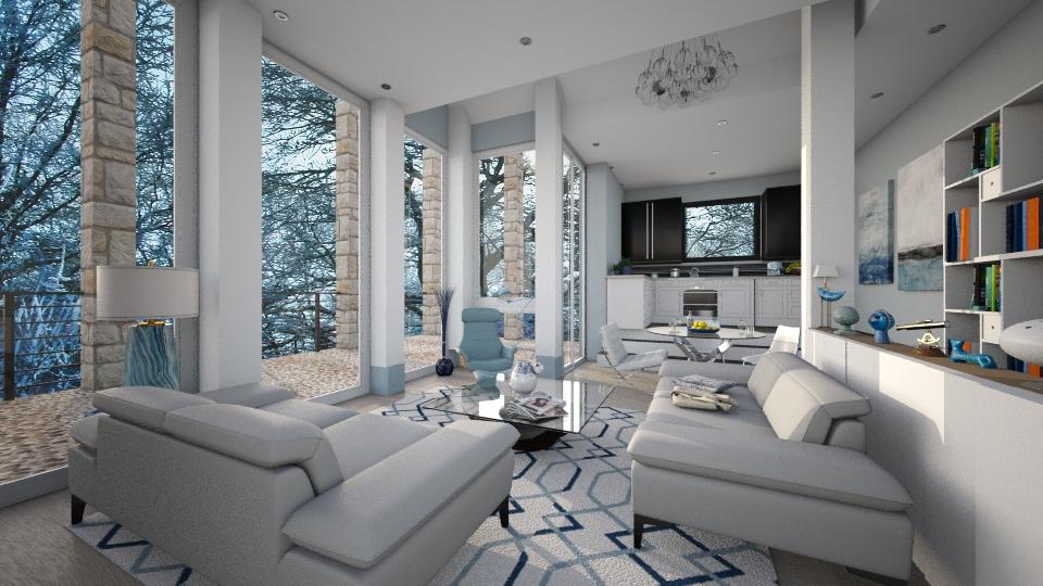 M_Snowy Forest - by milyca8