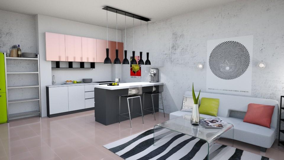 Kitchen_1 - Kitchen - by DagnyL