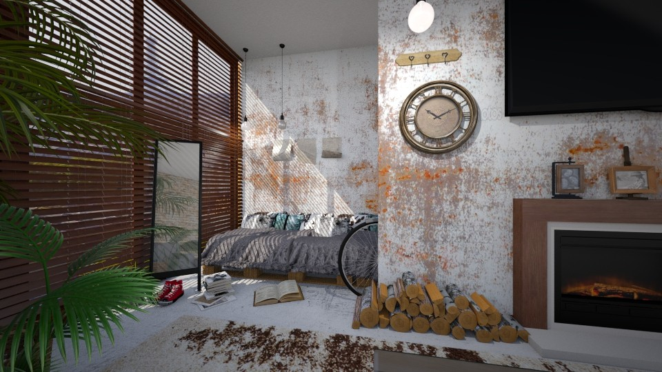 pequeno loft - Bedroom - by Brubs Schmitt