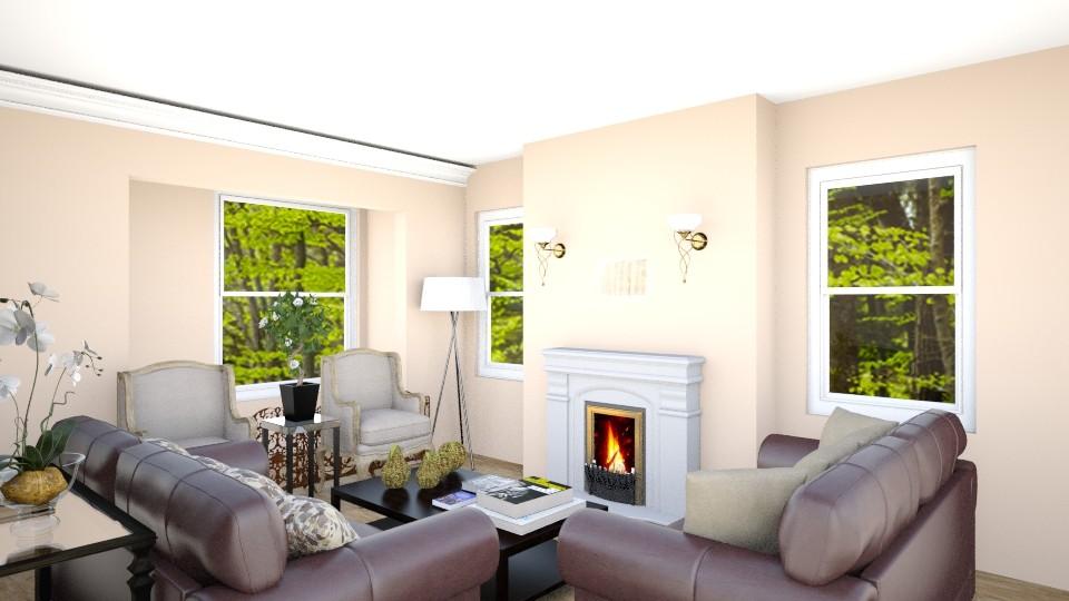 dn - Living room - by andaq