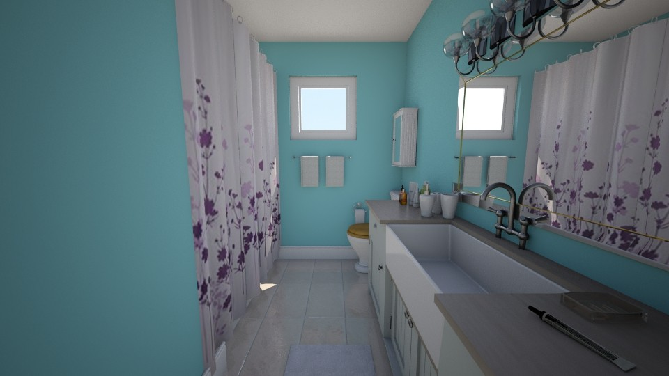 Big Bathroom4 - Bathroom - by FlameMonarch