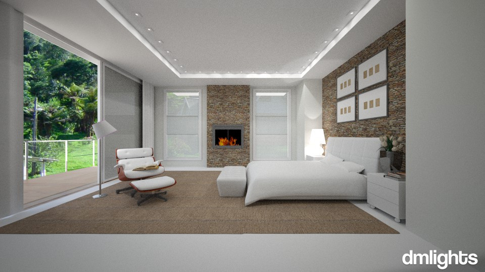 Campos do Jordão - Bedroom - by DMLights-user-983971