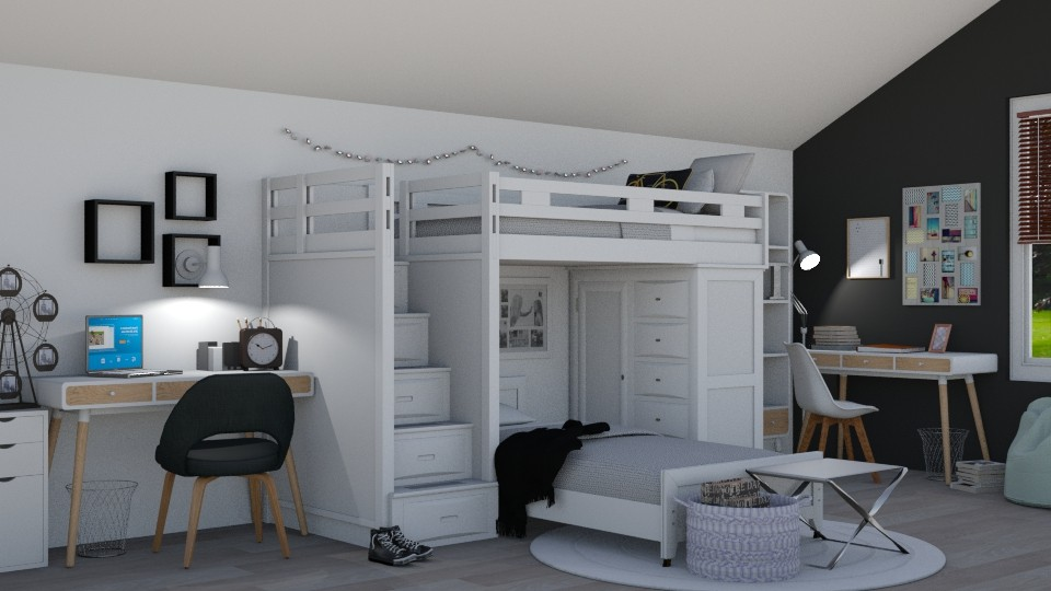 Bunk Beds - by juliavalerie