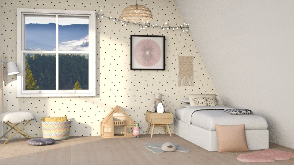 Little Girl - Kids room - by DeborahArmelin