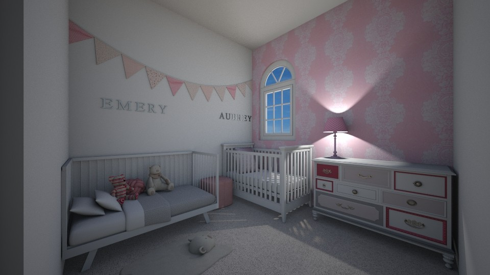 Girls Rooms - Feminine - Kids room - by Volleyball2018
