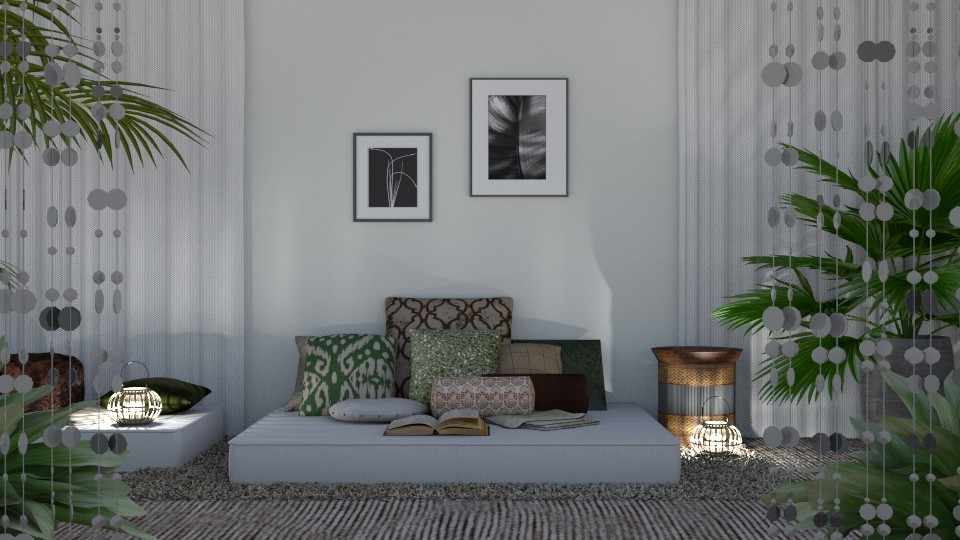Bohemian Bed - Eclectic - Bedroom - by millerfam