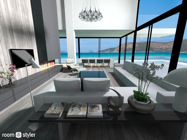 Seaside - Living room - by fre82